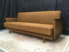SB121 - Sofa Bed Day Bed Mid-Century Danish Modern Studio Couch Vintage Retro