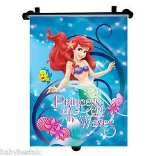 Disney Marmaid Car Window UV Protection Roller Blind Sun Shade - Single