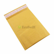 "15 KRAFT BUBBLE PAPER PADDED ENVELOPE 7"" X 10"" BROWN SELF SEALED MAILERS Bag CD"
