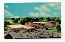 MA Holyoke Massachusetts vintage post card Holiday Inn view