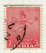 INDIA;  1949 early Pictorial issue fine used 2a. value
