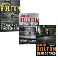 Sharon Bolton 3 Books Collection Set,A Dark and Twisted Tide,paperback,Brand New