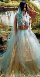 80 PC WHOLESALE LOT TIFFANY BLUE WEDDING GOWNS/ACCESSORIES /Many Styles & Sizes