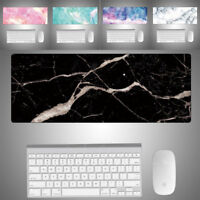 Large Marble Color Gaming Mouse Pad Mat Laptop Computer Desk Pad Keyboard Mat US