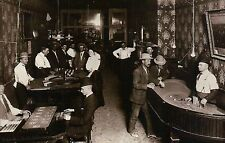 Saloon Scene, Gold Hill, Nevada, c 1910, Gambling Craps, Roulette etc - Postcard