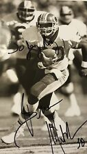 Brian Mitchell autographed 8x10 Washington Redskins Free Shipping