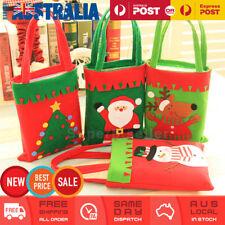 4x Christmas Santa Candy Bag Xmas Gift Bags Christmas Tree Hanging Decoration AU