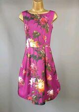 Ted Baker dress Elidh purple Floral   SIZE 0 UK 6