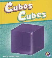 Cubos/Cubes (A+ Bilinge/Bilingual: Figuras En 3-D/3-D Shapes)-ExLibrary