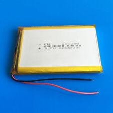 3.7V 6200mAh Li Po Battery For Tablet PC DVD Power Bank Mobile Phone PAD 906090