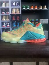 Nike LeBron XII 12 Low PRM Limited LeBronald Palmer 776652-383 Size 10.5 WithBOX