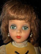 "Vintage 17"" Eegee Little Debutante Doll 1950s"