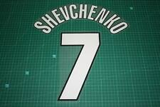 AC Milan 98/00 #7 SHEVCHENKO Homekit Nameset Printing
