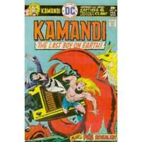 Kamandi: The Last Boy on Earth #38 in Very Fine minus condition. DC comics [*k4]
