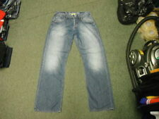 Work Cotton Faded Jeans for Men