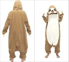 Sloth Kigurumi Anime Cosplay Pyjamas Costume Onesie11 Adult jump Fancy Dress ^_^