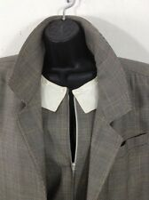Vintage 1980's Fendi Jumpsuit & Overcoat Trench Bergdorf Goodman Made In Italy