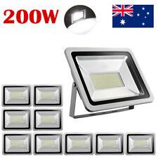 200w Cool White LED SMD Flood Light Outdoor Lamp AC 220v-240v Ip65