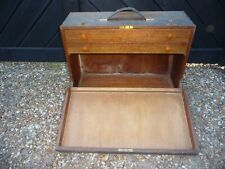 Vintage Carpenters Tool chest with 2 pull out drawers  .50cm x 20cm x 36
