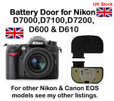 Battery Door Cover for Nikon D7000, D7100, D7200, D600 & D610 NEW