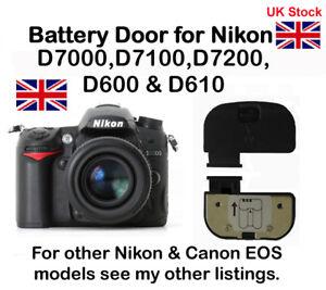 Battery Door Cover for Nikon D7000, D7100, D7200, D600 & D610 NEW