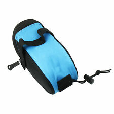 Waterproof Bike Tail Rear Pouch Bicycle Seat Outdoor MTB Saddle Bag FrShp Blue