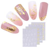 30 Sheets Water Decals Stickers Flower Cat Manicure Nail Art Transfer Sticker U