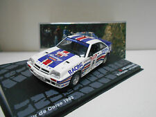 OPEL MANTA 400 RALLY TOUR CORSE 1983 FREQUELIN EAGLEMOSS IXO 1/43