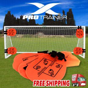 Pro Precision Training Football AID Soccer Target Practice Shot Goal