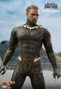 Hot Toys MMS471 Black Panther Erik Killmonger Figure