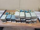 Lot of 11 McCurdy Mic preamp input card units microphone broadcast control board