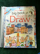 Big Book of Things to Draw by Fiona Watt (Paperback, 2010)