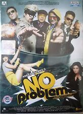 NO PROBLEM - ORIGINAL EROS BOLLYWOOD DVD - Anil Kapoor, Sunjay Dutt,