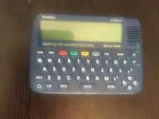 Franklin Bookman Dictionary & Thesaurus Sed-840 Speaking W/ New Batteries Works!