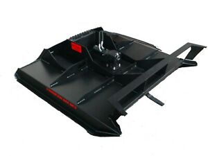 """72"""" RUT MFG BRUSH CUTTER MOWER FOR SKID STEER, CTL, AND MTL 10-25 gpm"""