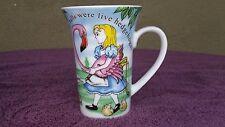 Alice in Wonderland Mug Cafe Paul Cardew 2010 Red Queen Croquet Hedgehogs Cup