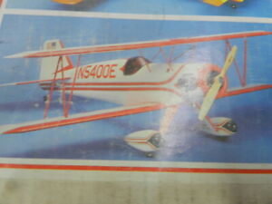 Super Aeromaster Balsa rc airplane kit by Great Planes  Rare/ Vintage