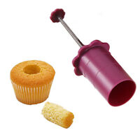 Cupcake Corer Cake Muffin Hole Plunger Core Cream Filler Cutter Decorating Tool