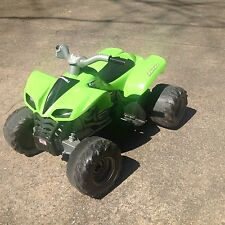 Kids atv/4 wheeler kawasaki ninja  green  power wheels
