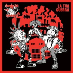 FECCIA ROSSA La Tua Guerra CD Street Punk Rock Oi Antifa skinhead hardcore crust