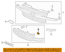 GM OEM-Grille Mounting Clip 11588333