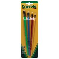 Crayola Paint Assorted Brushes 4 ea (Pack of 2)