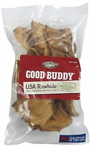 Castor & Pollux Good Buddy USA Rawhide Chips, 4 OZ (Pack of 3)