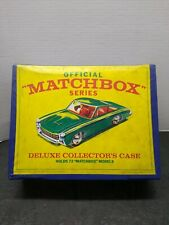 Vintage 1968 Official Matchbox Series Deluxe Collector's Case - 72ct. 1/64