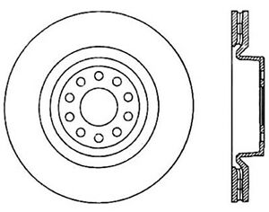 Disc Brake Rotor-Sport Drilled Disc Front Right Stoptech 128.33092R