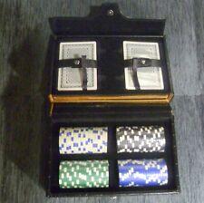 Smalto Valise de Poker Jeu de Poker Poker Copeaux Jetons Jeu de Cartes