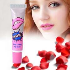 Magic Lip Gloss Waterproof Long Lasting Peel Off Mask Tattoo Lip stick Peach ZX