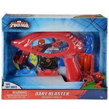 Marvel Spiderman Dart Blaster Safe Soft Darts w/2 Targets