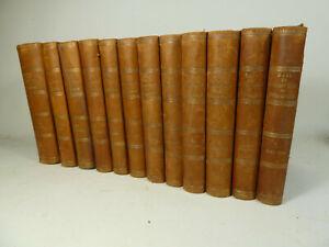 Die politischen Reden des Fürsten Bismarck,  12 Bände Halbleder 1892-1894