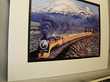 Southern Pacific RR Shasta Daylight Passenger  Artist Railroad Archives ee